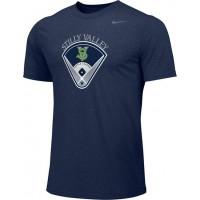 Stilly Valley Little League 10: Adult-Size Nike Team Legend Short-Sleeve Crew T-Shirt - Board Logo